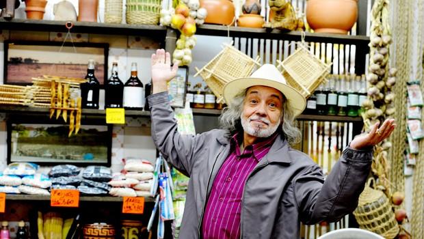 """Pedro Paulo Rangel em """"Amor eterno amor"""", de 2012, uma de suas últimas novelas (Foto: Matheus Cabral /TV Globo)"""
