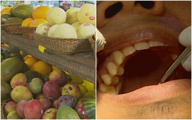 Educação alimentar e atendimentos odotolígicos fazem parte da programação (Foto: Amapá TV)