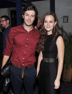 Adam Brody e Leighton Meester (Foto: Getty Images/Agência)