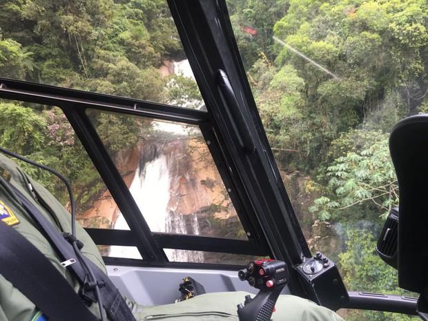Salto da Fortuna, Morretes (Foto: Divulgação / Corpo de Bombeiros)