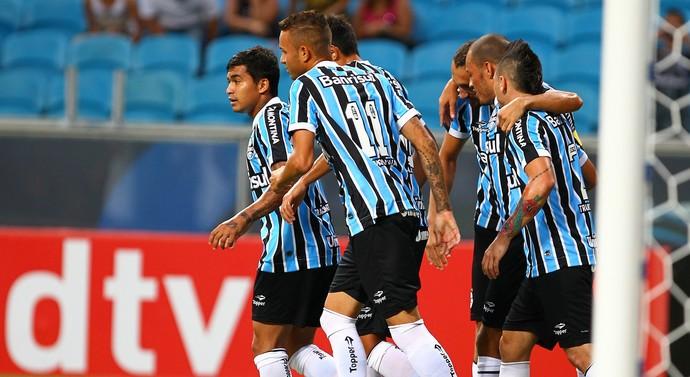 grêmio novo hamburgo gol barcos (Foto: Lucas Uebel/Grêmio FBPA)