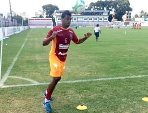 Auremir se apresenta e treina no Fortaleza  (Foto: Divulgação / Site Oficial do Fortaleza )