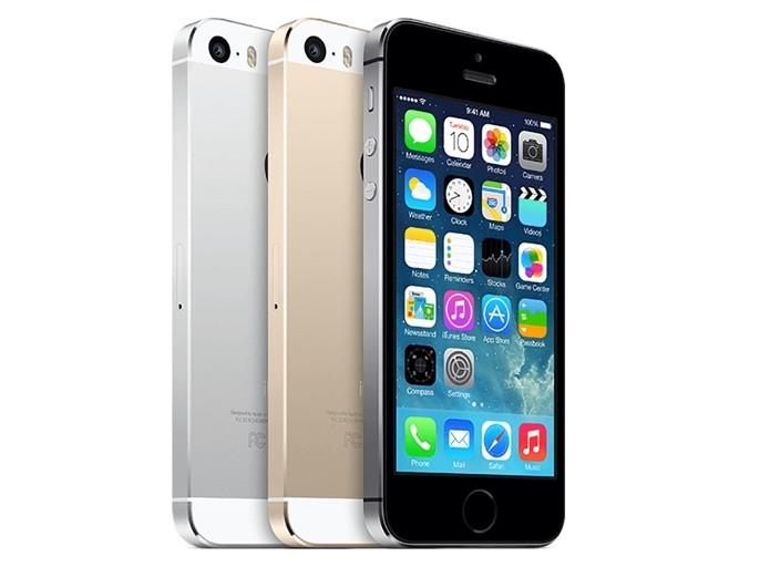 iPhone 5S vem nas cores prata, dourado e cinza (Foto: Divulgação/Apple)