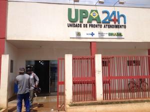 UPA da Zona Leste atende cerca de 400 pessoas por dia, em Porto Velho (Foto: Marcos Paulo)