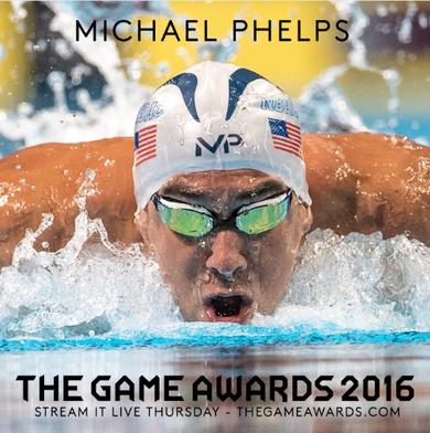 Michael Phelps vai participar do The Games Awards 2016 (Foto: Reprodução / Twitter)