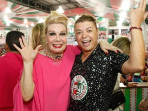 Rogéria e David Brazil serão Rei e Rainha do Baile Glam Gay (Foto: Fernando Azevedo / Divulgação)