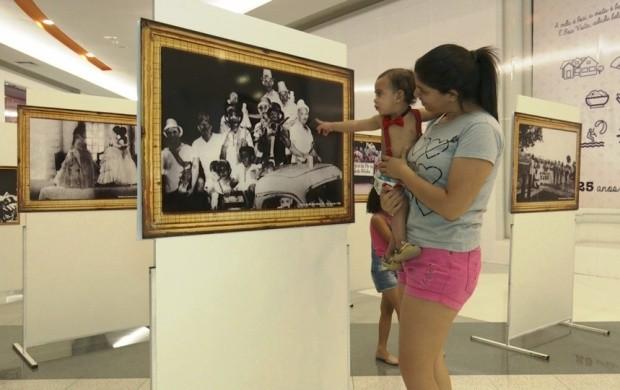 Exposição fotográfica sobre o carnaval está disponível em Boa Vista (Foto: Bom Dia Amazônia)