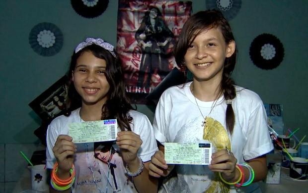 Amigas se encantaram pelo trabalho da cantora Laura Pausini (Foto: Amazônia em Revista)