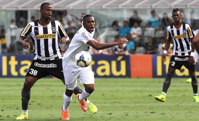 Robinho, Santos X Botafogo (Foto: Michel Filho / Agência o Globo)
