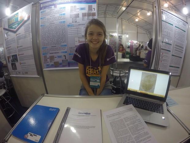 Maria Vitória vê a ciência como ferramenta de mudança social (Foto: Arquivo pessoal)