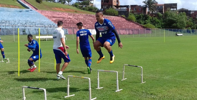 treino físico do Bahia (Foto: Divulgação / EC Bahia)