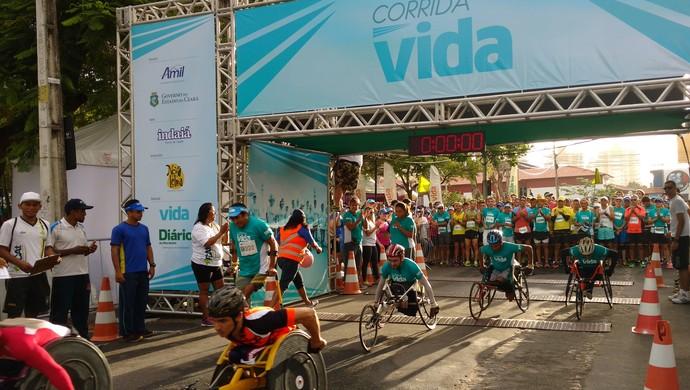 Corrida Vida, Fortaleza (Foto: Thaís Jorge)