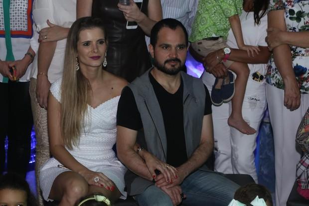 Luciano e Flavia (Foto: Marcelo Brammer e Thiago Duran / AgNews)