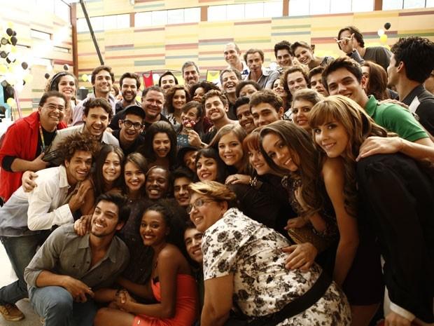 Elenco equipe Malhação  (Foto: Malhação / TV Globo)