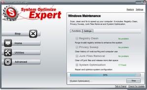 System Optmize Exper