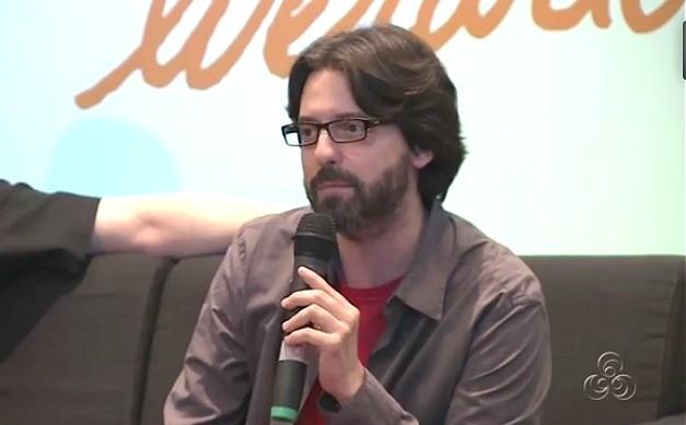 Escritor falou sobre a qualidade do que é produzido na América Latina (Foto: Amazônia TV)