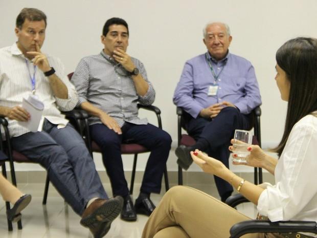 Em uma visita à Rede Amazônica, Rebecca Garcia comentou os números de faturamento do PIM (Foto: Patrick Marques/G1 AM)