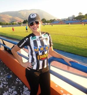 Rita de Cássia, namorada atacante Tupi-MG (Foto: Arquivo pessoal/Rita de Cássia)