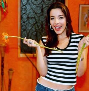 Renata Dominguez como a Solene, em Malhação (Foto: Cedoc/TV Globo)