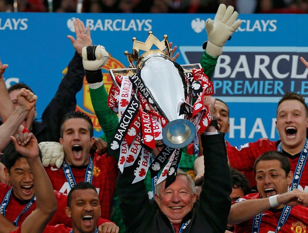 manchester united campeão inglês (Foto: Reuters)
