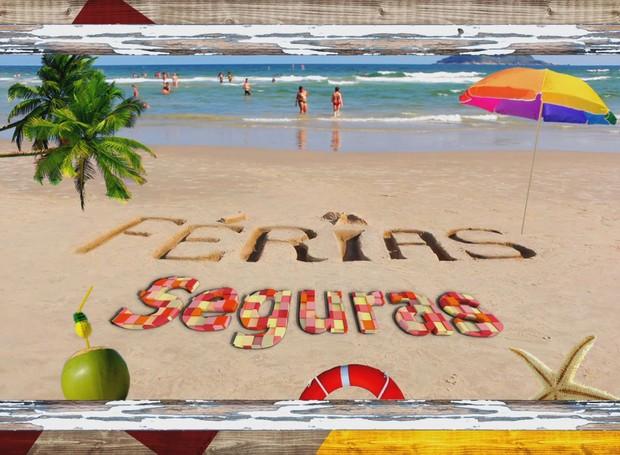 Assista a campanha da TV Tribuna e curta suas férias em segurança (Foto: Reprodução/TV Tribuna)
