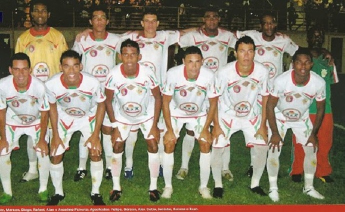 Associação Esportiva Real, campeão roraimense de 2011 (Foto: Reprodução/Pôster de Times Campeões )