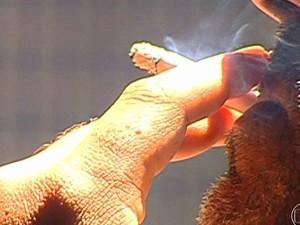 Parar de fumar faz bem ao coração, apesar de engordar; veja um guia para deixar o cigarro (Foto: Rede Globo)