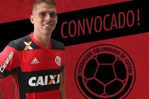 Cuéllar Flamengo convocação Colômbia (Foto: Reprodução/Instagram)