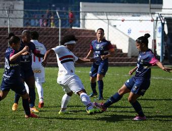São Paulo x São José futebol feminino (Foto: Igor Amorim / saopaulofc.net)