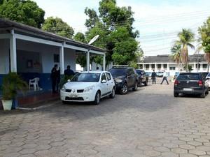 Neudo Campos está no Comando de Policiamento da Capital (CPC) e será levado à Polícia Federal (Foto: Emily Costa )