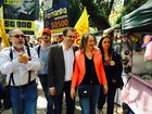 'Voto útil é aquele de quem acredita até o fim', diz Luciana Genro no RS