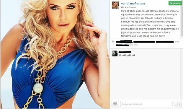 Veridiana Freitas (Foto: Reprodução Instagram)