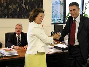 Novos desembargadores foram eleitos por votacão (Foto: Divulgação/ TJES)