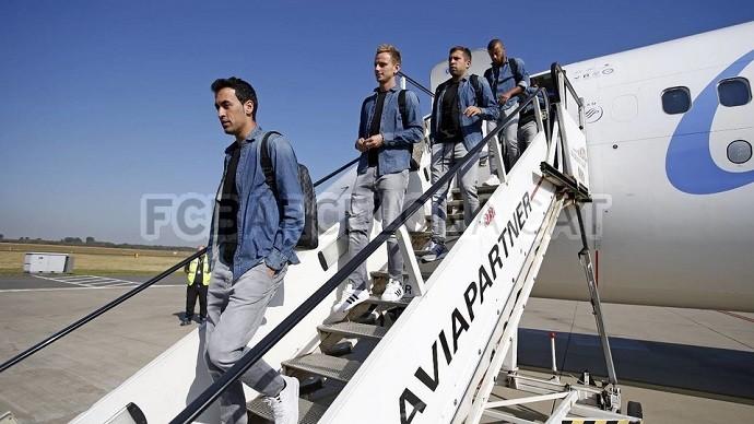 Barcelona desembarque alemanha