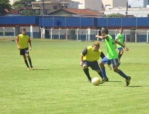 Peneira do time sub-15 do Grêmio Prudente (Foto: Marcos Chicalé / Semepp)