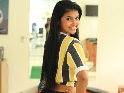 Jessica, candidata a Musa do Voltaço 2013 (Foto: Matheus Luiz)