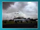 'O vento foi muito forte', lembra funcionário de lavanderia destruída