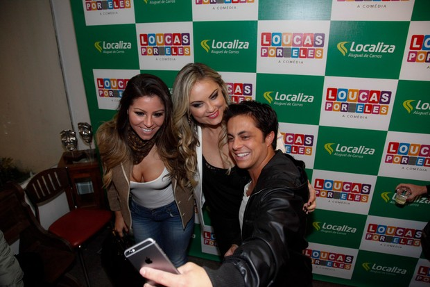 Ellen Roche, Ellen Roche e Thammy Miranda (Foto: Marcos Ribas/Photo Rio News)