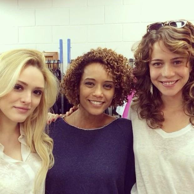 Isabelle Drumond, Taís Araújo e Leandra Leal (Foto: Reprodução/Instagram)