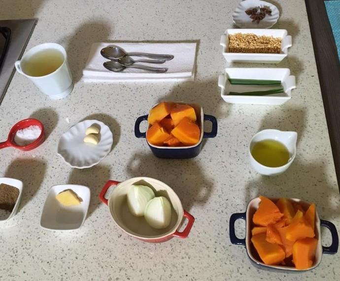 Ingredientes (Foto: Fernanda Pinheiro )