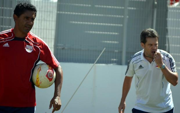 Argel Claudiomiro dupla RB Brasil (Foto: Murilo Borges)