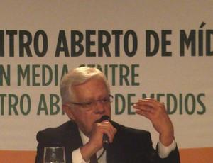 Moreira Franco, ministro da aviação civil (Foto: Paola Loewe)