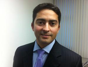 Advogado do Treze, George Ramalho (Foto: Vicente Seda / Globoesporte.com)