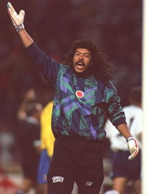 René Higuita Colômbia 1995 (Foto: Getty Images)