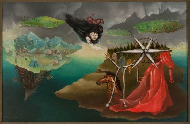 Obra 'Artes 110' (1942), de Leonora Carrington (Foto: Reprodução)
