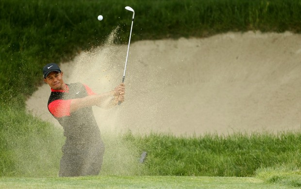 Golfe Tiger Woods no US Open (Foto: Getty Images)