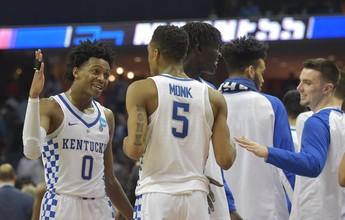 Kentucky supera UCLA e avança por vaga no Final Four da NCAA