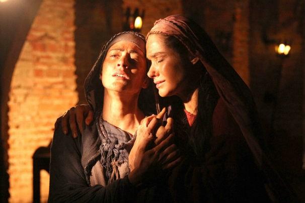 As atrizes Carol Castro (Maria) e Fernanda Machado (Maria Madalena) estão no elenco (Foto: Divulgação)
