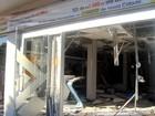 Usuários ficam sem agência até reparo de prédio destruído em assalto