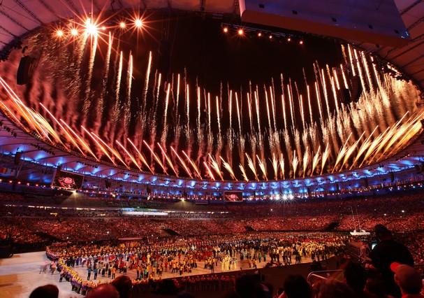 Abertura da Rio  2016 (Foto: Getty Images)